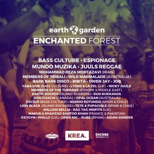 Enchanted Line Up