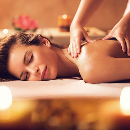 Performing Body Massage